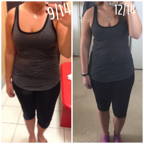 before and after running results 6945286 running before